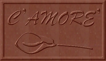 Custom C'Amore' Business Card Sized Chocolate