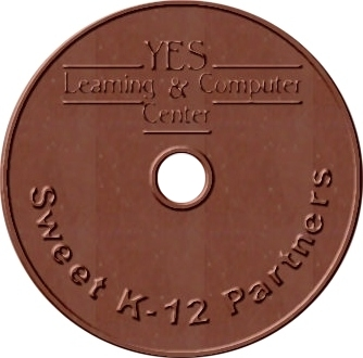 K-12 Custom CD sized Chocolate Bar