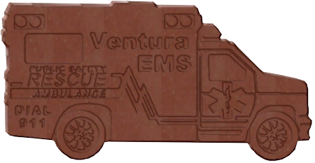 Ambulance Company Chocolate
